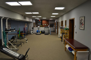 Inside our Physical Therapy Office