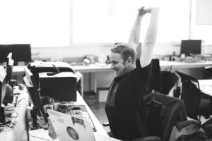 Stretching at the Office